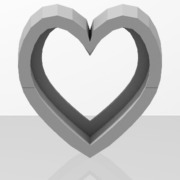 molde corazon