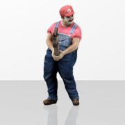 Sexy Mario Wrench Pose