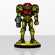 Samus PowerSuit Amiibit Figure