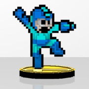 Mega Man Amiibit Figure