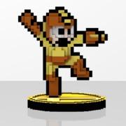 Mega Man Amiibit Figure Metal Blade
