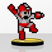 Mega Man Amiibit Figure Rush