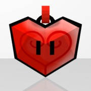 Pendentif Coeur Rouge