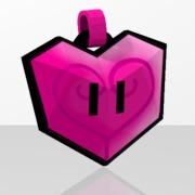 Pendentif Coeur Rose