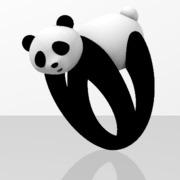 Faby Panda ring - Sz 54
