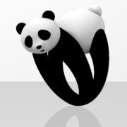 Faby Panda ring - 50