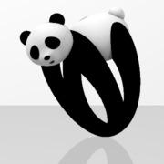 Faby Panda ring - 58