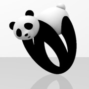 Faby Panda ring - 52