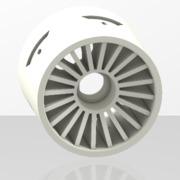 Palmiga OpenR/C Formula 1 Low Profile Front Rim V1