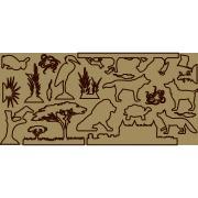 Silhouettes Plexi animaux -3