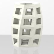 Square holes vase