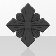 Ornements pour portails en fer forgé-023