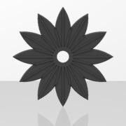 Ornements pour portails en fer forgé-045