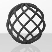 Ornements pour portails en fer forgé-054