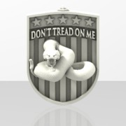 Dont Tread on Me Key chain, #DontTreadonMe