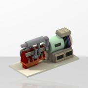 Générateur Electrique + Moteur Diesel