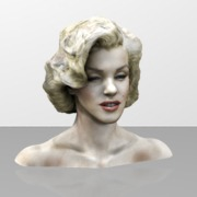 Marilyn Monroe model in Color