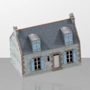 maison de pecheur  breton simple