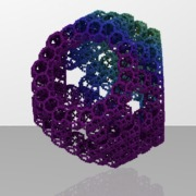 120vert_TridiminishedRhombicosidodecahedron_menger_cubeLevel2sca