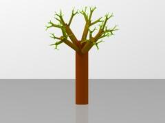 Random Fractal Tree