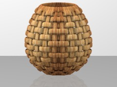 Knotted Basket Pot
