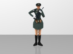 PLA Women Soldier - Army Guard of Honor 1/20
