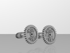 Man Up Cufflinks