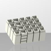 Boîte à composants CMS (16 pièces)