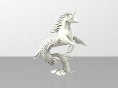 Unicorn Hippocampus - Seahorse