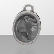 stylised kiwi bird pendant