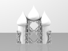beta cube cathedral 3stacked staircase