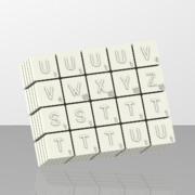 Scrabble 100 pions