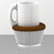 coffee and cake cup