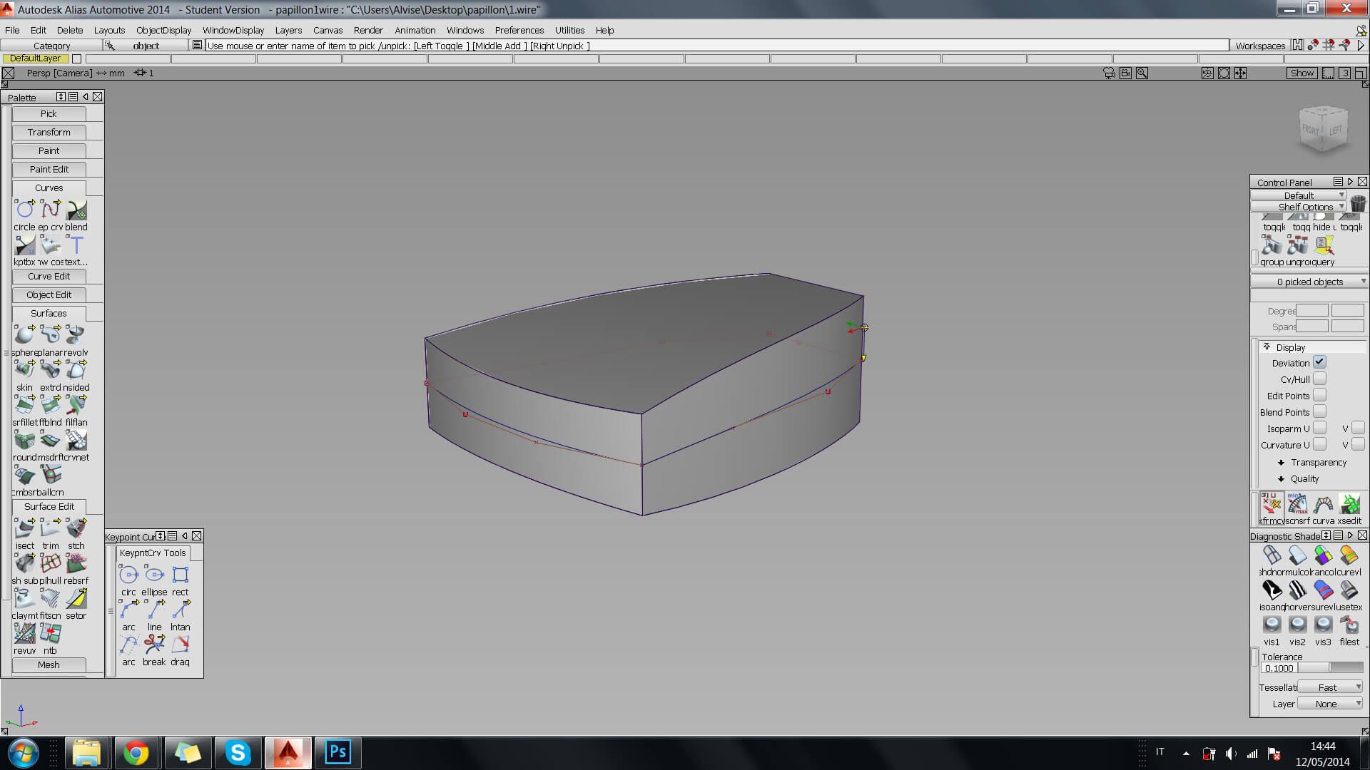 Autodesk Alias Tutorial: 3D Modeling for 3D printing with Autodesk Alias