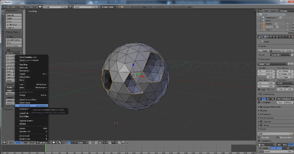 Blender Tutorial: error to avoid when designing for 3D printing