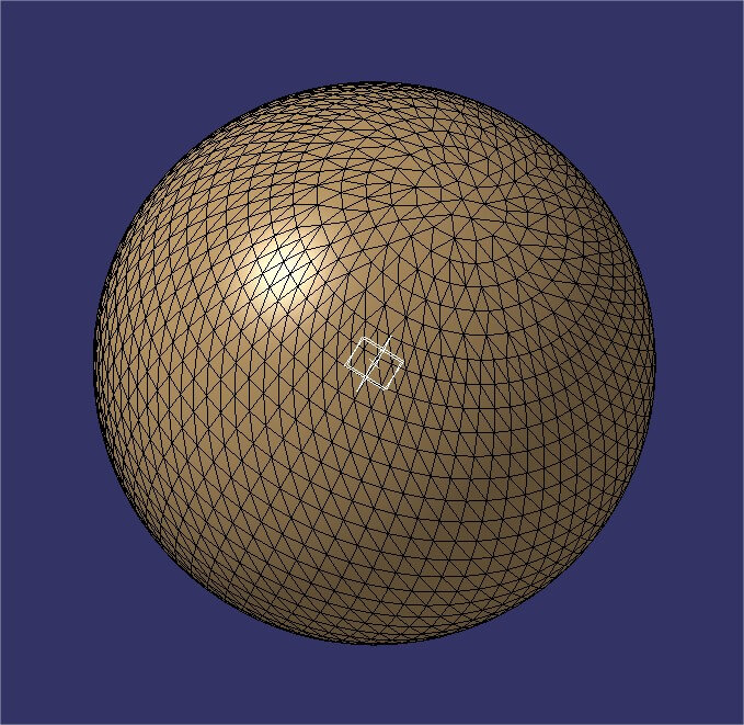 Catia tutorial: mesh reduction to reduce 3D file size