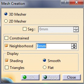 Catia tutorial: Mesh regeneration tool to automatically re-mesh the model