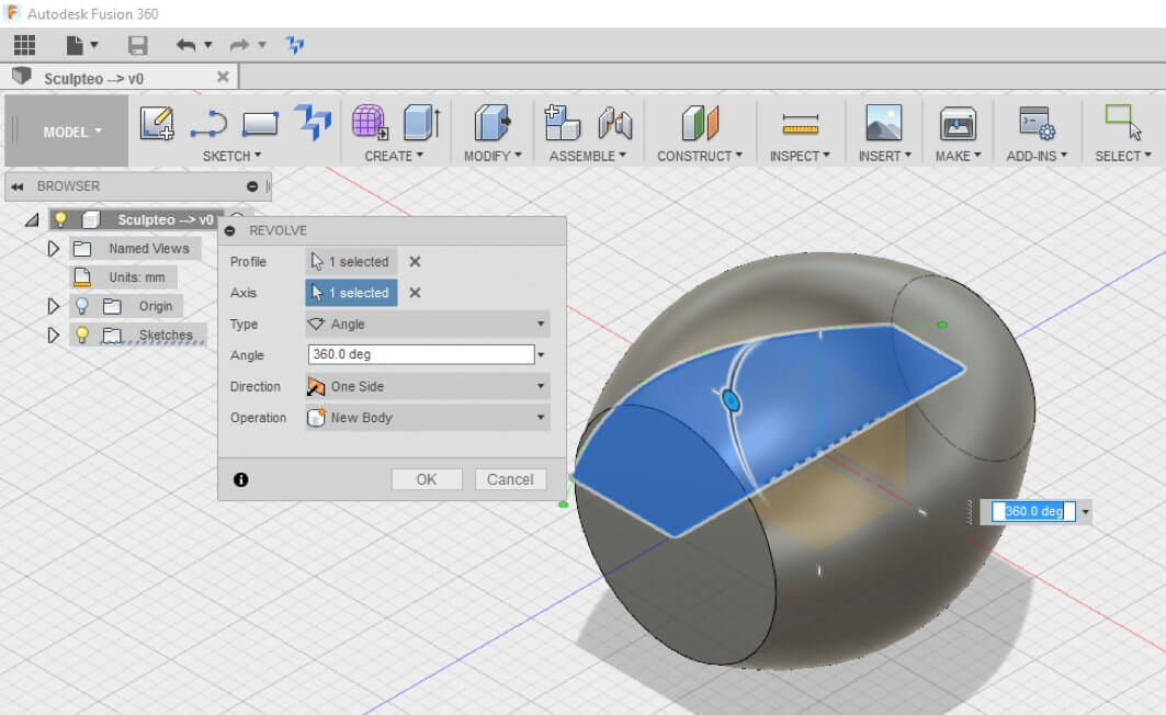 Fusion 360 Tutorial: 3D Modeling for 3D printing with Fusion 360