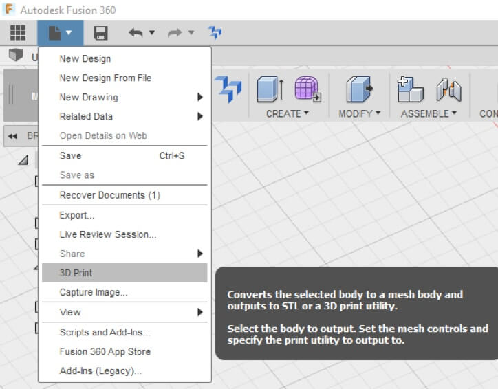 Fusion 360 Tutorial: 3D file Analyse & Export for 3D Printing