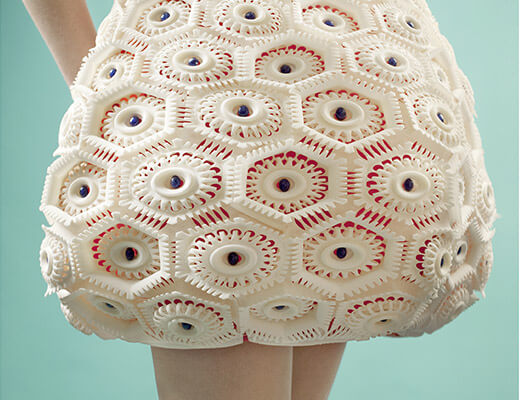 Flexible Plastic skirt in TPU by Sculpteo_material page
