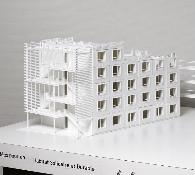 Architectural models and 3d printing in buildings houses for Architecte 3d key