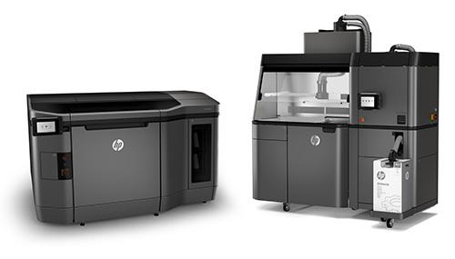 Jet Fusion Material for 3D Printing: 3D Printing Black Plastic
