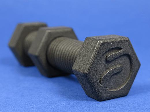 Schwarzer Kunststoff für 3D-Druck