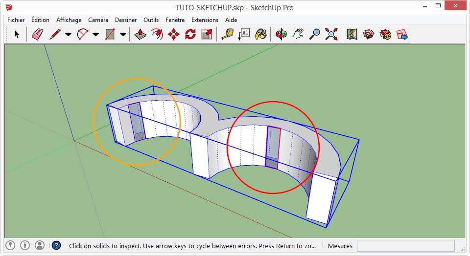 Análisis y archivo de exportación 3D para la impresión 3D es Sketchup