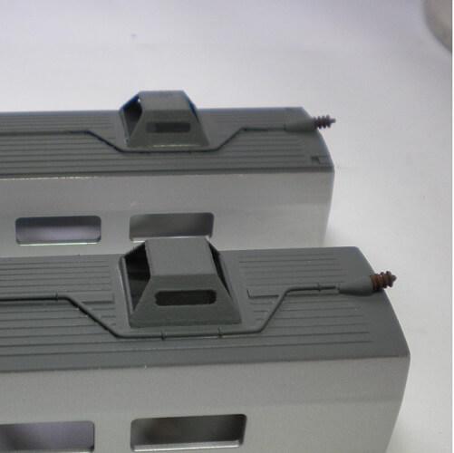 modele reduit de train avec piece en impression 3D