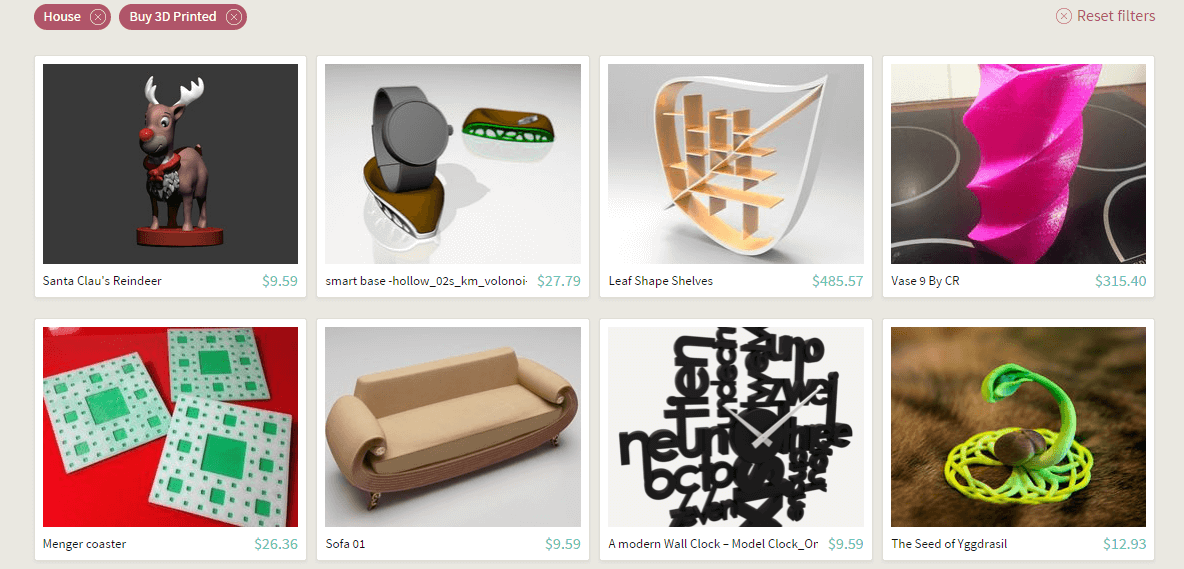 Sell 3D printed objects using Sculpteo 3D printing Cloud Engine