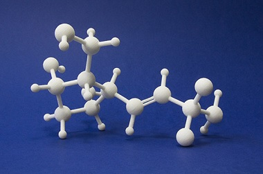 Scaled 3D printed Molecule