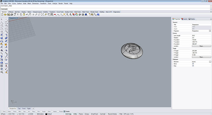 Rhino invert selection and hide objects