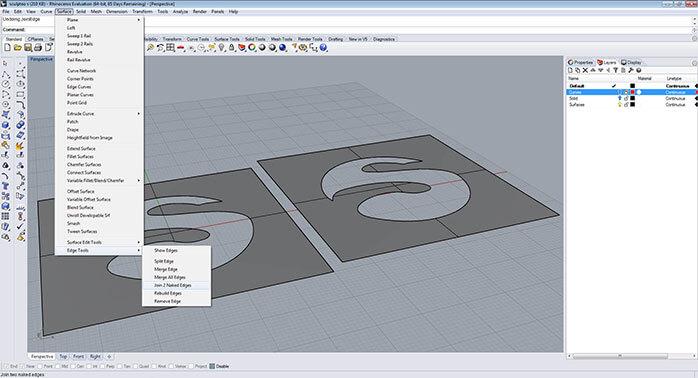 Rhinoceros: Bereiten Sie Ihr Modell für den 3D-Druck vor