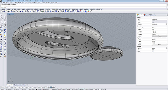 Rhino Tutorial: 3D Modeling for 3D printing with Rhinoceros